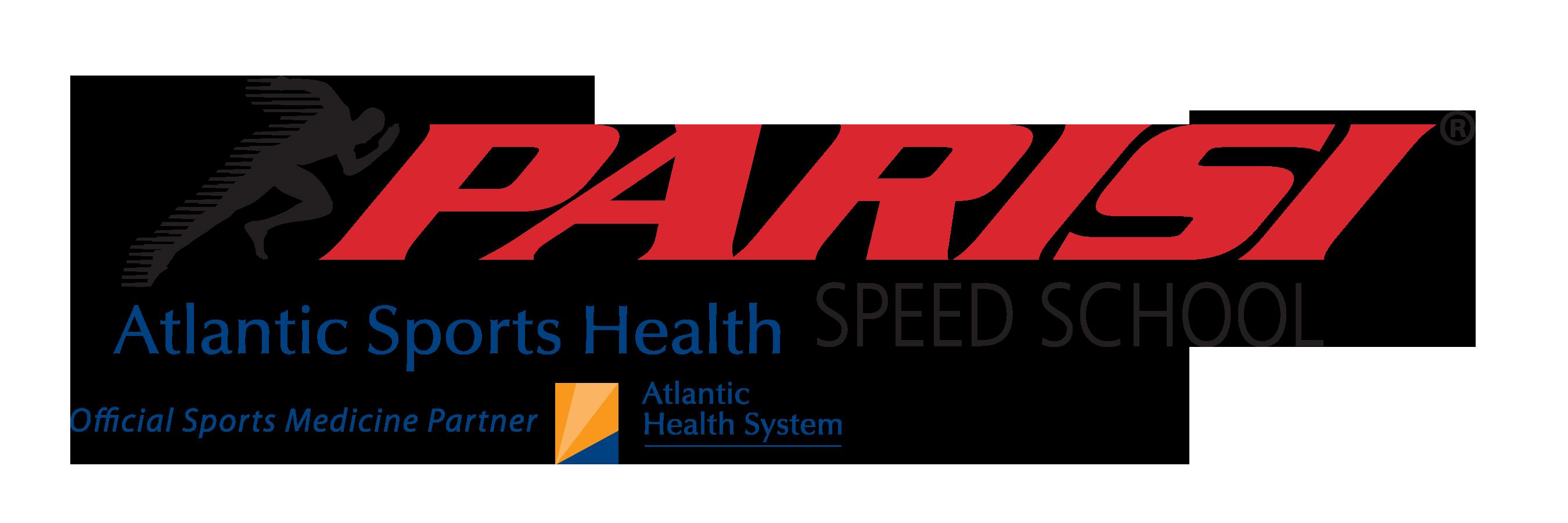 parisi with atlantic health logo